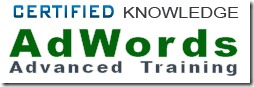 AdWords Advanced Training