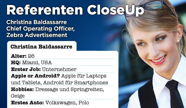 Referenten CloseUp – Lernen Sie Christina Baldassarre kennen