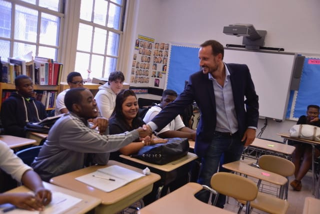 HRH Crown Prince Haakon, Co-founder Global Dignity